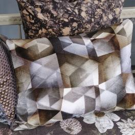 A Nyhet Designers Guild Kudde Maurier Graphite Cushion 60 x 45cm CCDG0953 (2-PACK)