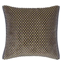 A Nyhet Designers Guild Kudde Portland Graphite Cushion 43 x 43cm CCDG0957 (1-PACK)