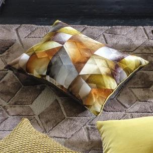 Designers Guild Kudde Maurier Ochre Cushion 60 x 45cm CCDG0952 (2-PACK) Kampanj 25% rabatt på hela köpet över 5000 kr (gäller ej rea och tyger) KOD. GTGYTKXL - 2-pack Kuddar med rabatt