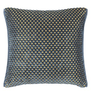 Designers Guild Kudde Portland Delft Cushion 43 x 43cm CCDG0954 (1-PACK) Kampanj 25% rabatt på hela köpet över 5000 kr (gäller ej rea och tyger) KOD. GTGYTKXL - Kudde  En styck