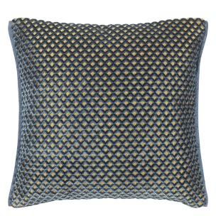 Designers Guild Kudde Portland Delft Cushion 43 x 43cm CCDG0954 (2-PACK) Kampanj 25% rabatt på hela köpet över 5000 kr (gäller ej rea och tyger) KOD. GTGYTKXL - 2-pack Kuddar med rabatt