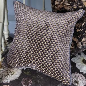 Designers Guild Kudde Portland Graphite Cushion 43 x 43cm CCDG0957 (2-PACK) Kampanj 25% rabatt på hela köpet över 5000 kr (gäller ej rea och tyger) KOD. GTGYTKXL - 2-pack Kuddar med rabatt