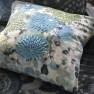 A Nyhet Designers Guild Kudde Japonaiserie Azure Cushion 50 x 50cm CCDG0917 (2-PACK)