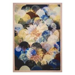 Designers Guild Pläd Kyoto Flower Peacock Throw 130 x 180 cm BLDG0196 digitaltrykt på 100% merino ull (1-Pack) Kampanj 25% rabatt på hela köpet över 5000 kr (gäller ej rea och tyger) KOD. GTGYTKXL