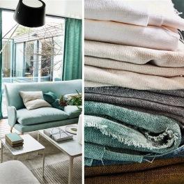 A. Nyhet Designers Guild Tygkollektion CANEZZA FABRICS bredd 297 cm till gardin och möbler
