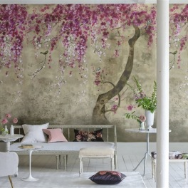 A. Nyhet Designers Guild Tapetkollektion SCENES AND MURALS WALLPAPER