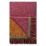 A Nyhet Designers Guild Pläd Katan Fuchsia Throw 130 x 180 cm Borstad mohair BLDG0199 (1-Pack)