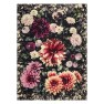 A Nyhet Designers Guild Pläd Dahlia Noir Fuchsia Throw 130 x 180 cm BLDG0197 digitaltrykt på 100% merino ull (1-Pack) - Per st