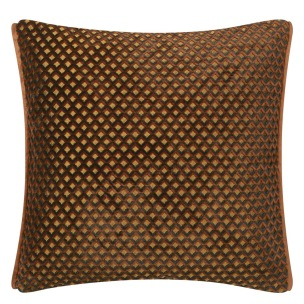 A Nyhet Designers Guild Kudde Portland Terracotta Cushion 43 x 43cm CCDG0956 (1-PACK) - Kudde  En styck