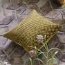 Designers Guild Kudde Portland Ochre Cushion 43 x 43cm CCDG0955 (1-PACK) Kampanj 25% rabatt på hela köpet över 5000 kr (gäller ej rea och tyger) KOD. GTGYTKXL - 2-pack Kuddar med rabatt