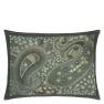 Designers Guild Kudde Uchiwa Teal Cushion 60 x 45cm CCDG0920 (1-PACK) Kampanj 25% rabatt på hela köpet över 5000 kr (gäller ej rea och tyger) KOD. GTGYTKXL - 2-pack Kuddar med rabatt