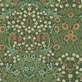 William Morris COMPILATON WALLPAPER Tapet BLACKTHORN 216857 (i en färgställning)