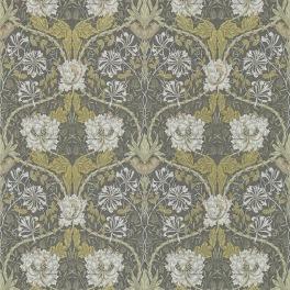 William Morris COMPILATON WALLPAPER Tapet HONEYSUCKLE & TULIP 216827 (i en färgställning)