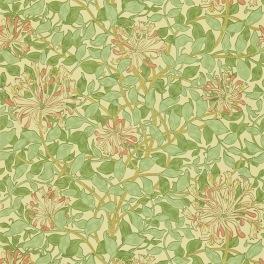 William Morris COMPILATON WALLPAPER Tapet HONEYSUCKLE 216842 (i en färgställning)