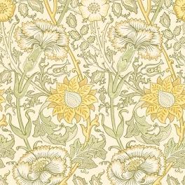 William Morris COMPILATON WALLPAPER Tapet PINK & ROSE 216836 (i en färgställning)