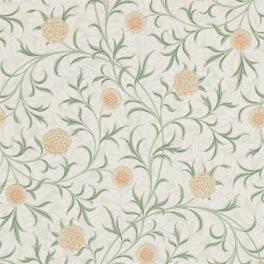 William Morris COMPILATON WALLPAPER Tapet SCROLL 216831 (i en färgställning)
