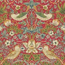 William Morris COMPILATON WALLPAPER Tapet STRAWBERRY THIEF 216848 (i tre Färgställningar)