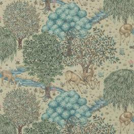 William Morris COMPILATON WALLPAPER Tapet THE BROOK 216821 (i två Färgställningar)