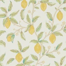 William Morris MELSETTER WALLPAPERS Tapet LEMON TREE 216672 (i Tre Färgställningar)