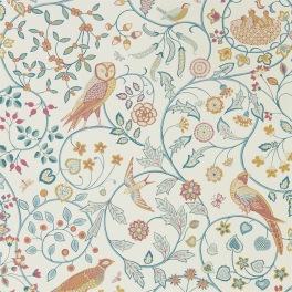 William Morris MELSETTER WALLPAPERS Tapet NEWILL 216703 (i tre Färgställningar)