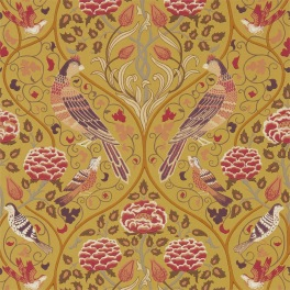 William Morris MELSETTER WALLPAPERS Tapet SEASONS BY MAY 216685 (i tre Färgställningar)