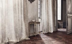 A. Nyhet Romo Tygkollektion Okari Decorative Sheers