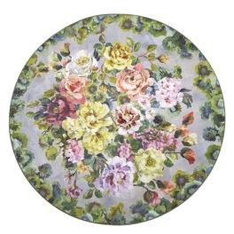 Designers Guild Digitaltrykt Matta GRANDIFLORA ROSE EPICE Rund diameter 250 cm RUGDG0679 Kampanj 25% rabatt på hela köpet över 5000 kr (gäller ej rea och tyger) KOD. GTGYTKXL