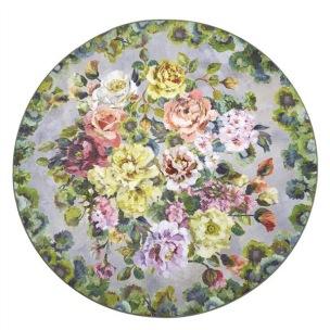Designers Guild Digitaltryckt Matta GRANDIFLORA ROSE EPICE Rund diameter 250 cm RUGDG0679 Kampanj 25% rabatt på hela köpet över 5000 kr (gäller ej rea och tyger) KOD. GTGYTKXL