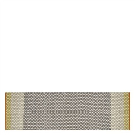 Designers Guild Handvävd Plastmatta indoor/outdoor CORTEZ SAFFRON 75X250cm RUGDG0676 Kampanj 25% rabatt på hela köpet över 5000 kr (gäller ej rea och tyger) KOD. GTGYTKXL