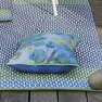 Designers Guild Handvävd Plastmatta indoor/outdoor CORTEZ COBALT 75X250 cm RUGDG0675 Kampanj 25% rabatt på hela köpet över 5000 kr (gäller ej rea och tyger) KOD. GTGYTKXL