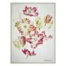 Designers Guild Pläd Spring Tulip Buttermilk Throw 130x180cm digitaltrykt på linne BLDG0208 (2-Pack) Kampanj 25% rabatt på hela köpet över 5000 kr (gäller ej rea och tyger) KOD. GTGYTKXL