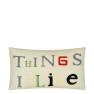 John Derian Kudde THINGS I LIKE PARCHMENT CCJD5046 (1-PACK) Kampanj 25% rabatt på hela köpet över 5000 kr (gäller ej rea och tyger) KOD. GTGYTKXL - Kudde  En styck