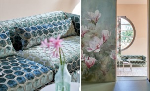 A. Nyhet Designers Guild Tygkollektion MANIPUR FABRICS