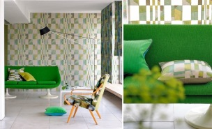 A. Nyhet Designers Guild Tapetkollektion CHINON TEXTURED WALLPAPER