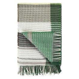 Designers Guild Pläd FLORENTIN EMERALD 130X190 cm 40%Merino Wool, 40%Cotton 20%Polyester Vävd i våffeleffekt BLDG0219 (1-Pack) Kampanj 25% rabatt på hela köpet över 5000 kr (gäller ej rea och tyger) KOD. GTGYTKXL