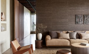 A. Nyhet Mark Alexander Tapetkollektion CollageHandcrafted Wallcoverings