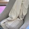 Designers Guild Pläd Burano Dove Throw 130x180cm 80%Merino Wool, 10%Silk 10%Nylon BLDG0225 (1-Pack) Kampanj 25% rabatt på hela köpet över 5000 kr (gäller ej rea och tyger) KOD. GTGYTKXL