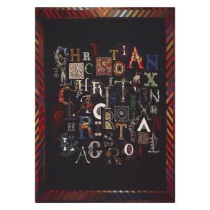 Christian Lacroix Pläd DO YOU SPEAK LACROIX? MULTICOLORE BLCL5004 digitaltrykt på Puré Merino Wool (1-Pack) Kampanj 25% rabatt på hela köpet över 5000 kr (gäller ej rea och tyger) KOD. GTGYTKXL