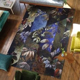 A. Nyhet Designers Guild Digitaltrykt Matta JANGAL MOSS 200x300 cm RUGDG0683 Kampanj 25% rabatt på hela köpet över 5000 kr (gäller ej rea och tyger) KOD. GTGYTKXL