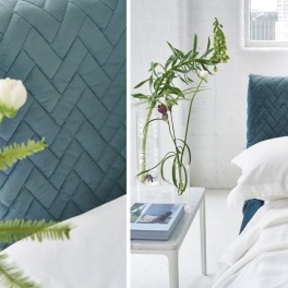 A.Nyhet Designers Guild Tygkollektion CAMERI CUCITO quilted velvet