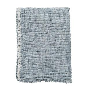 Klippans Yllefabrik Duo 130 x 170c m. 80 % bomull & 20% lin. - 1-pack 2720-03 Blue