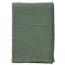 Klippans Yllefabrik Basket 130 x 180 cm. 100 % organisk bomull - 1-pack 2704-02 Green