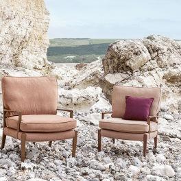 Kirkbydesign Tygkollektion Fleck Eco Sustainable Textured Chenille