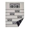 Klippans Yllefabrik Ullfilt Premium Eyes130 x 180cm 60% merinoull & 40% lammull 2285-01 Black (extra mjuka )