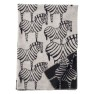 Klippans Yllefabrik Ullfilt Zebra ECO 130 x 180cm. 100% lammull - Filt Zebra 2282-02 Black/natural beige