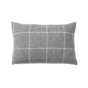Klippans Yllefabrik VingaKuddfodral 60 x 40cm. 100% lammull 2735-01 Light grey - 1-pack 2735-01 Light grey