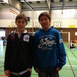 Morris Rudberg och danny ersson gjorde bra ifrån sig och danny knep en hedersam 4. Plats i turneringen.