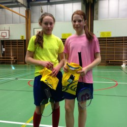 Emma Lindholm vann en mycket jämn B-final mot Mikela Engberg.