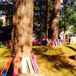 "Land art. ""Kultur i Uterum"" - 3 dagars utomhus workshop med totalt 300 st 5-åringar, Borås,  på uppdrag av Borås konstmuseum"