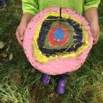 """Land art projekt """"Cirkel"""" - med samtliga 5-åringar i kommunal barnomsorg, Klippans kommun genom Kulturgarantin"""